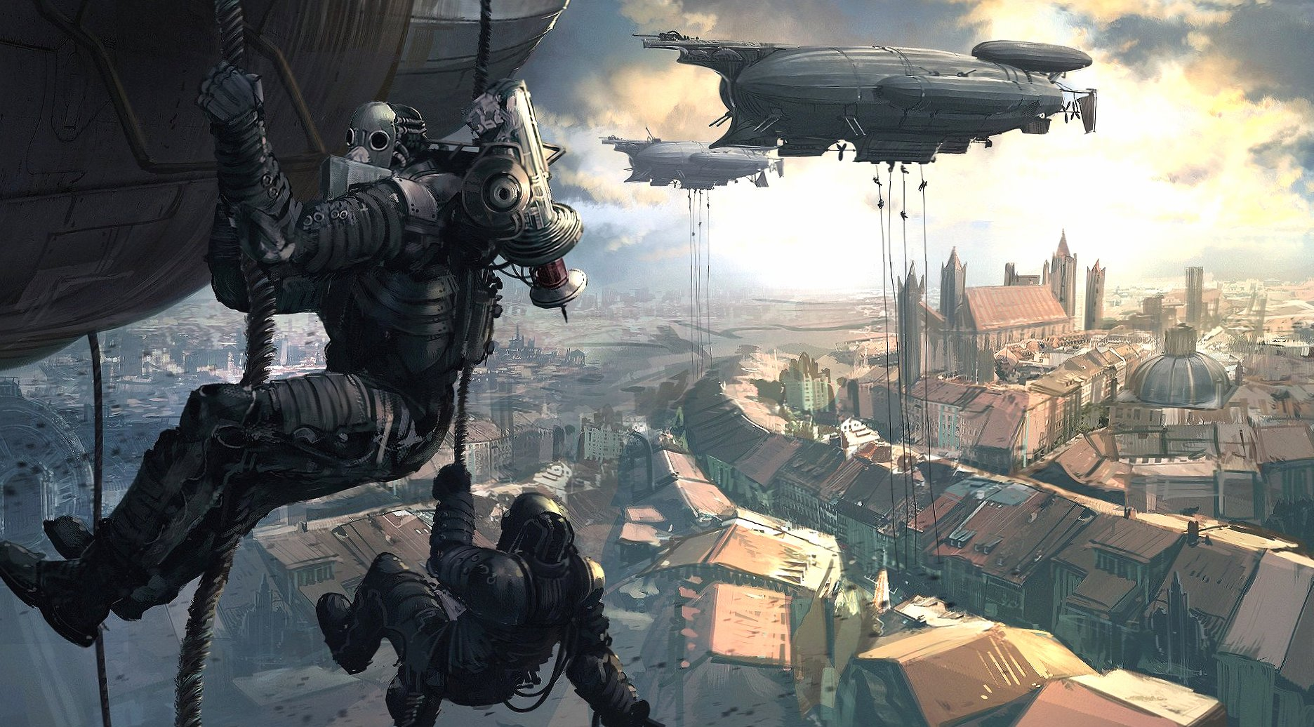 Steampunk wallpapers HD quality