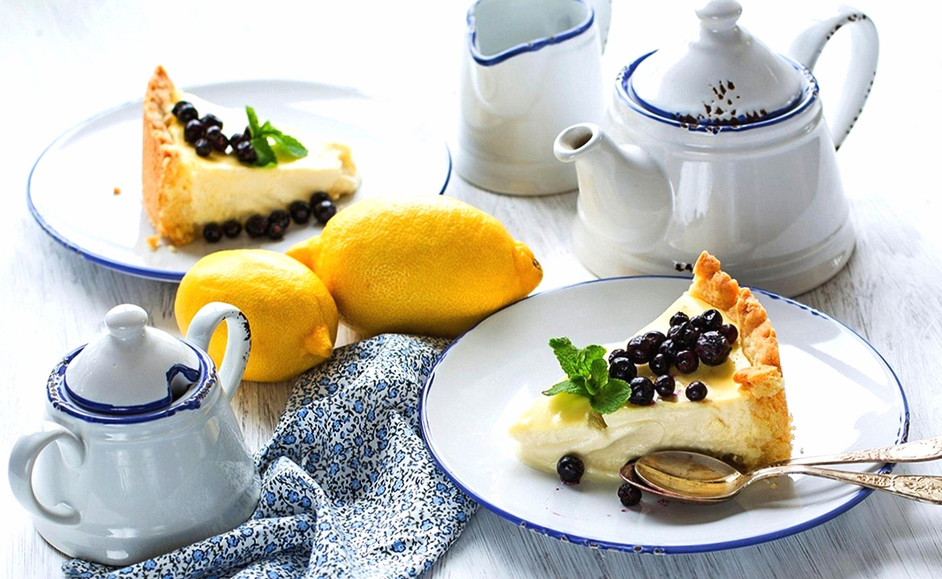 Tea and cake wallpapers HD quality