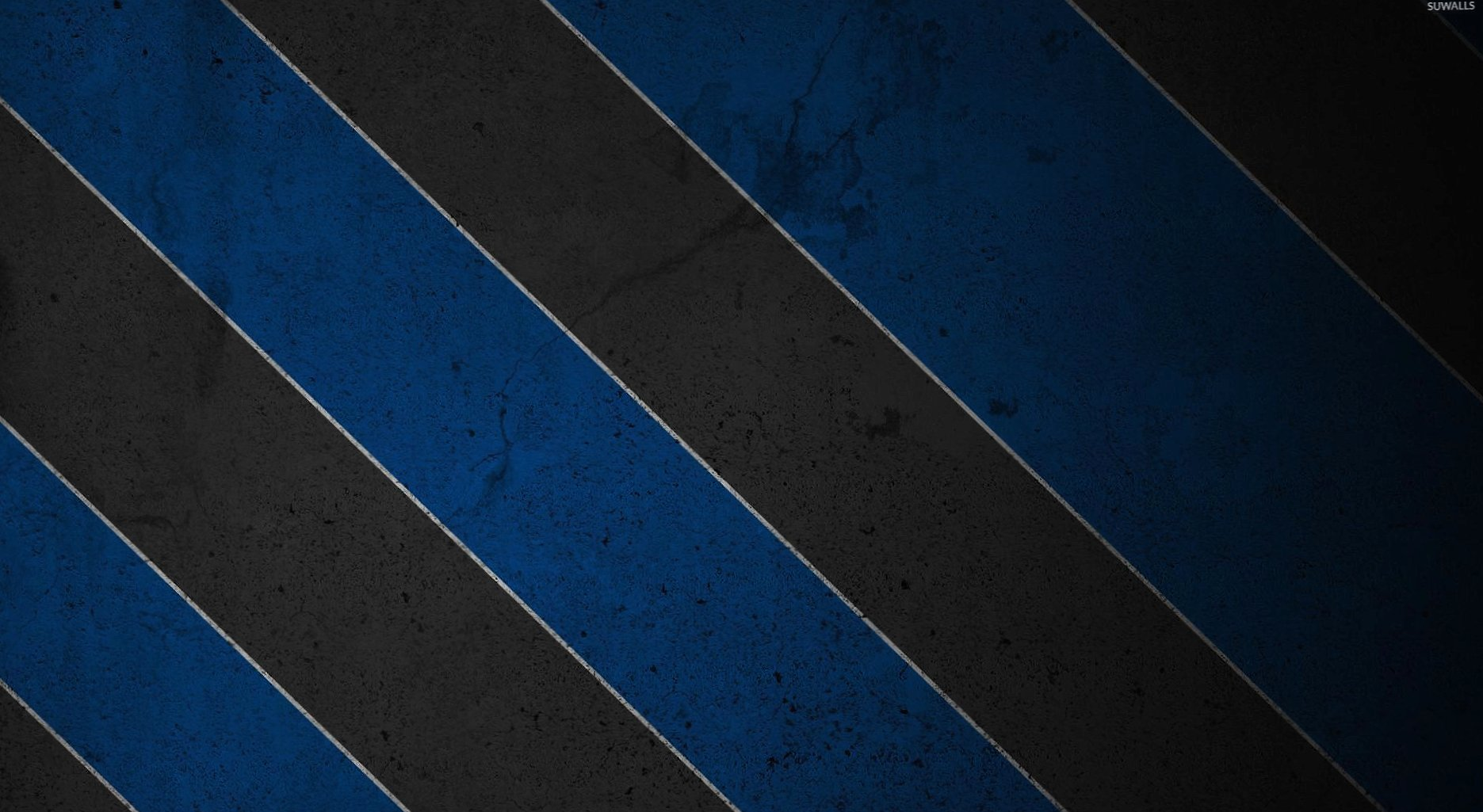 Texturized black and blue stripes wallpapers HD quality