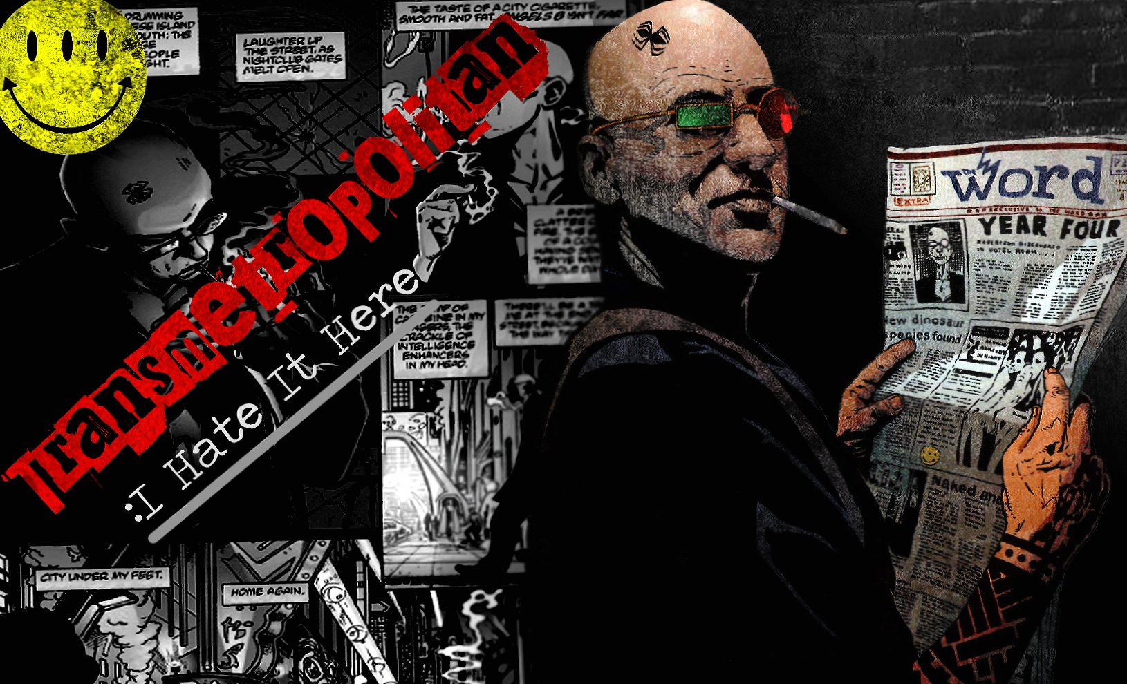 Transmetropolitan wallpapers HD quality