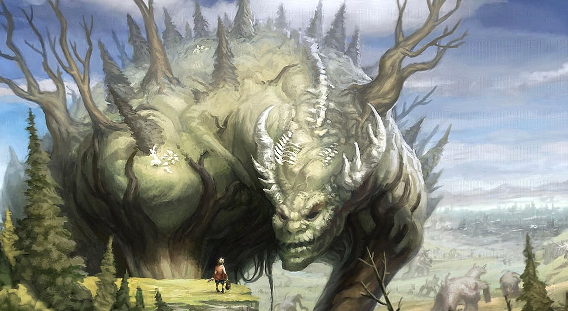 Tree creature wallpapers HD quality