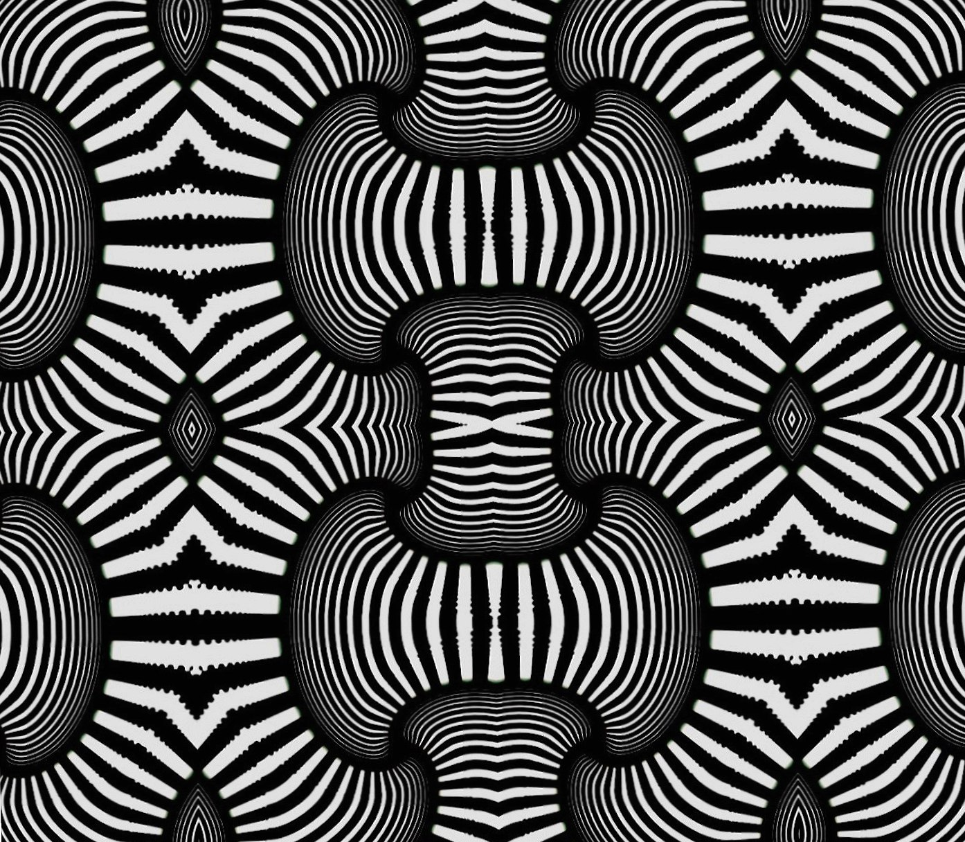Trippy black white at 1600 x 1200 size wallpapers HD quality