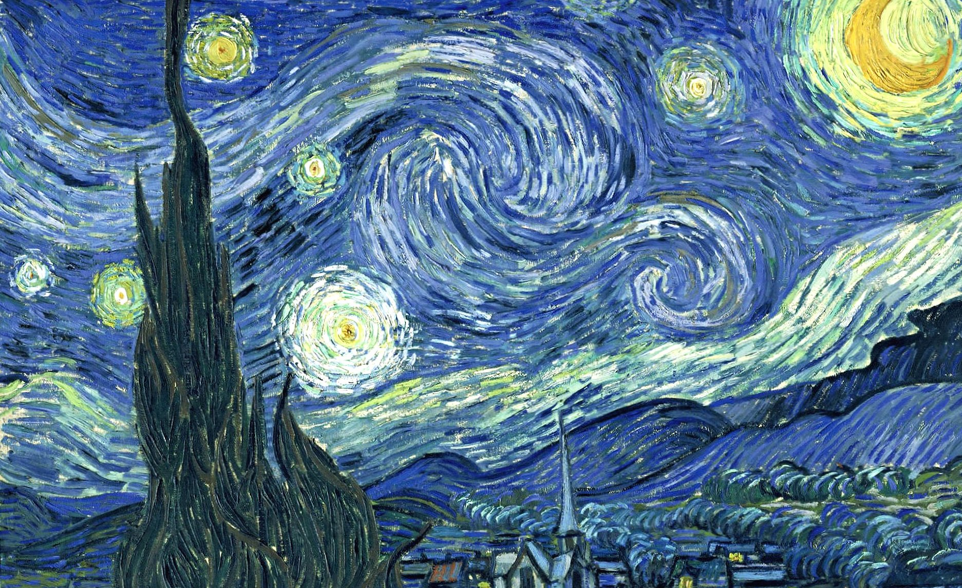 Vincent van gogh starry night wallpapers HD quality