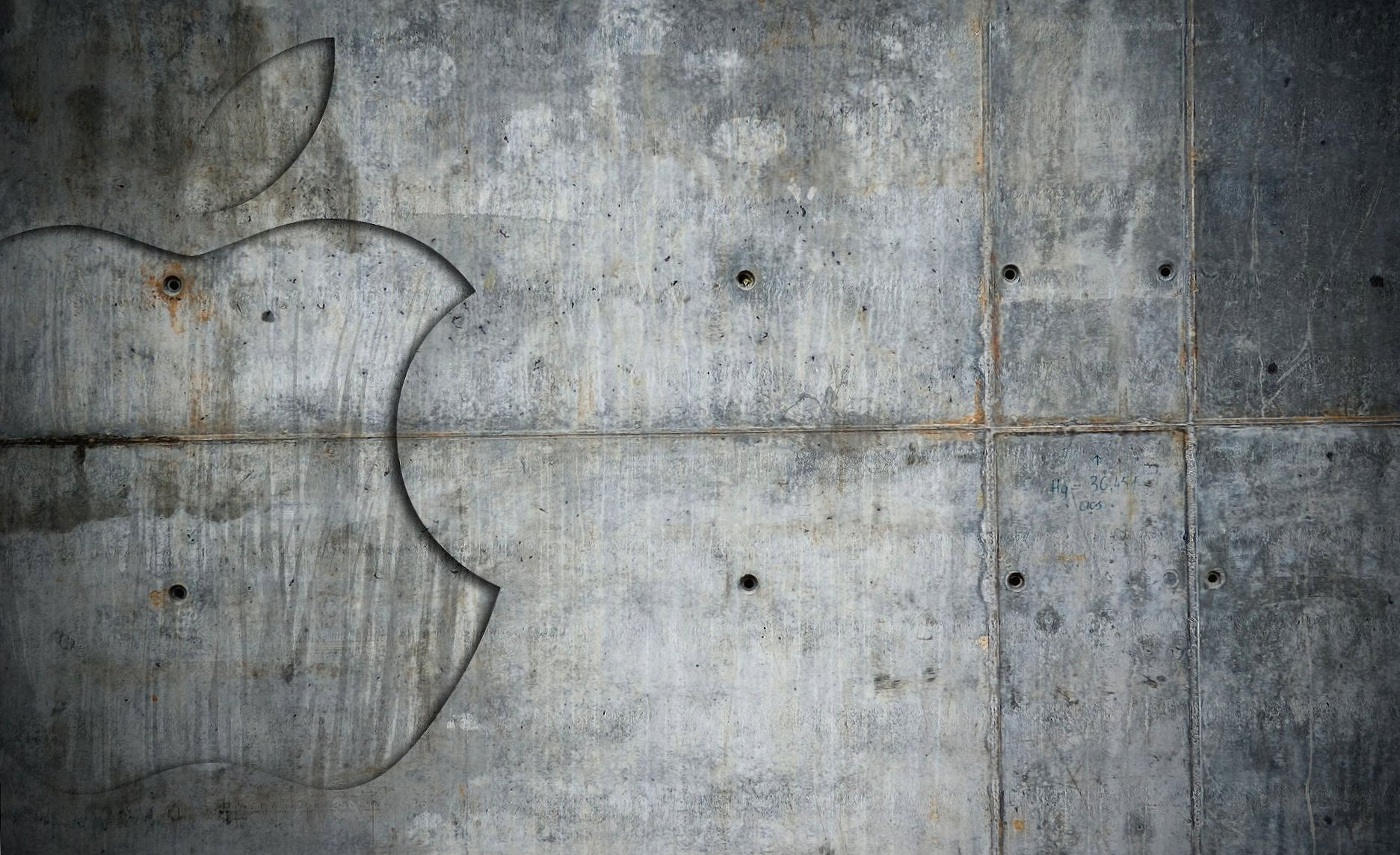 Wall cement apple wallpapers HD quality