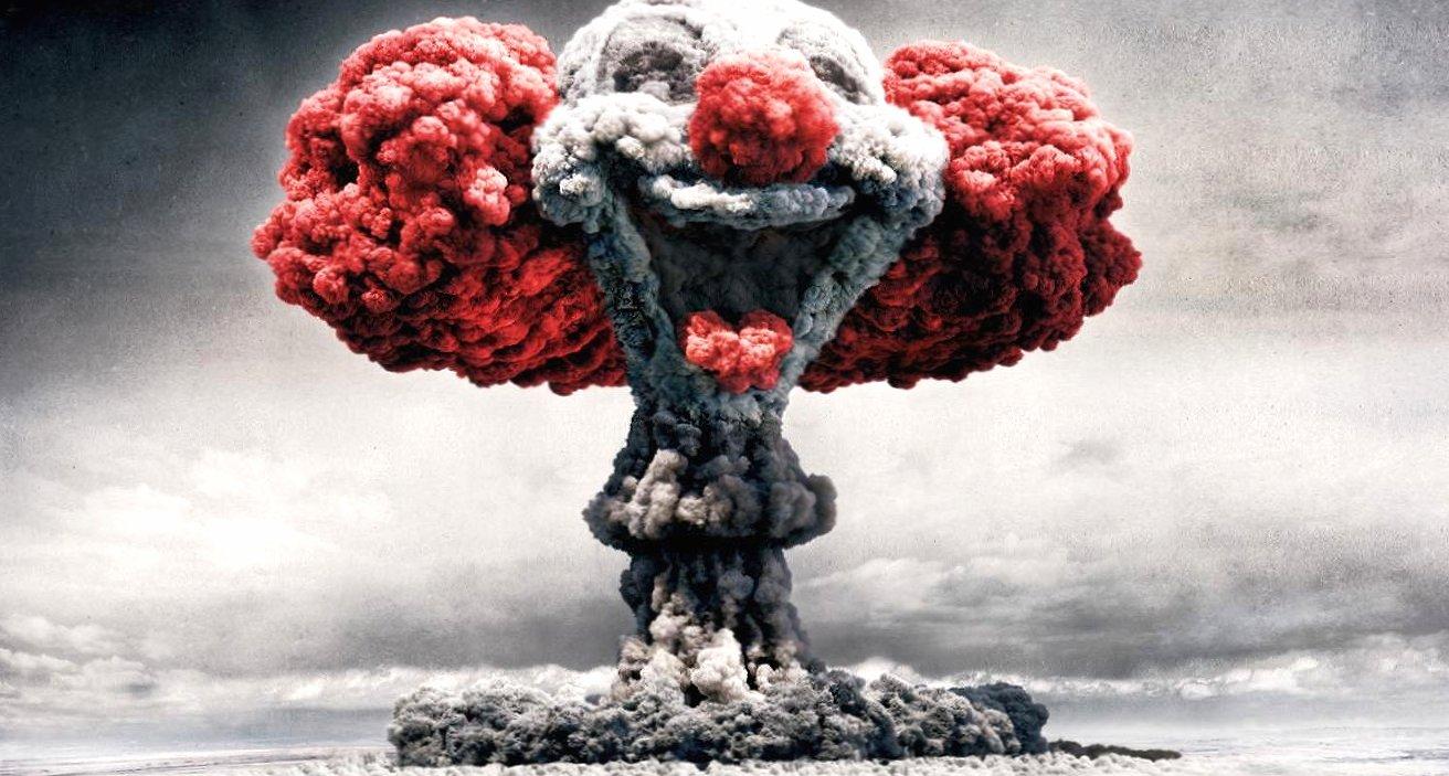 Weird atomic clown wallpapers HD quality
