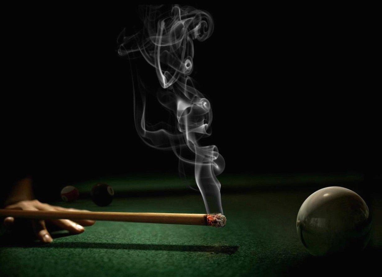 Weird smoking billiard wallpapers HD quality