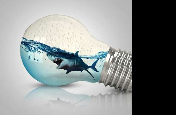 Fish in bulb wallpapers hd quality