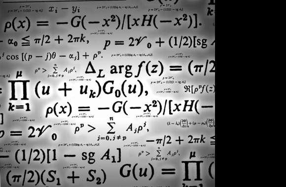 Math Equation Wallpaper HD Download