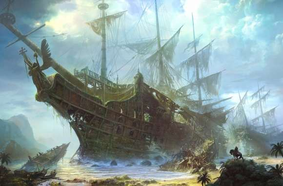 Ghost ship wallpapers hd quality