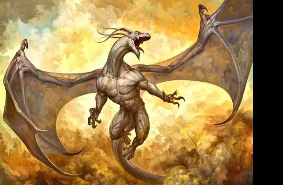 Humanoid dragon wallpapers hd quality