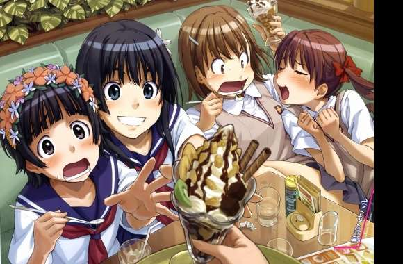 Icecream anime to aru kagaru no railgun