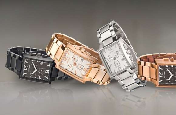 Jack Pierre metallic watches