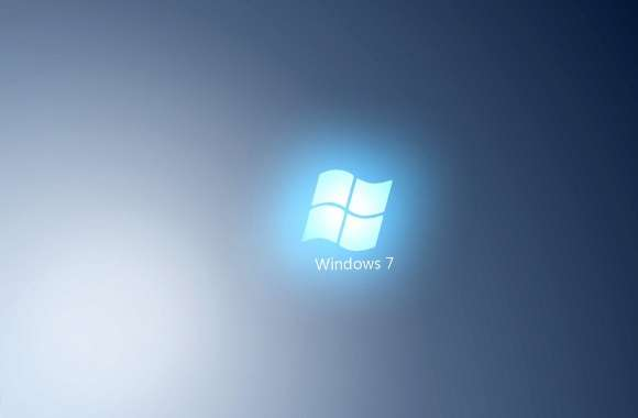 Light blue Windows 7 logo