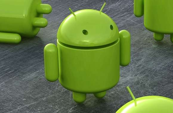 Robot green android wallpapers hd quality