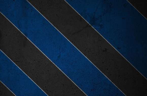 Texturized black and blue stripes