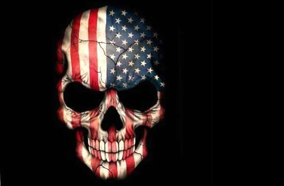 US skull wallpapers hd quality