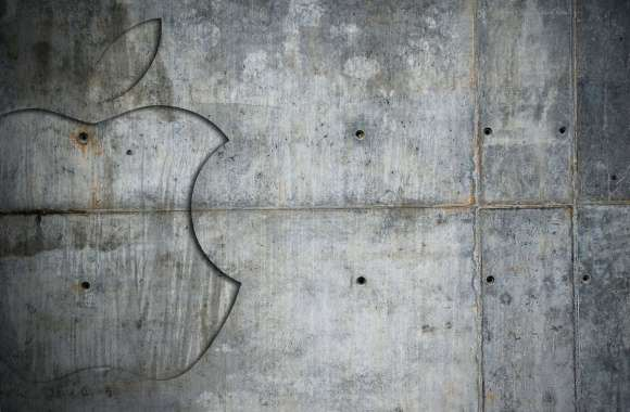 Wall cement apple