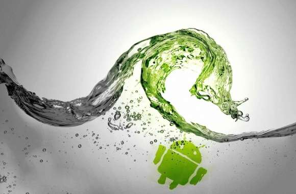 Water splash android wallpapers hd quality