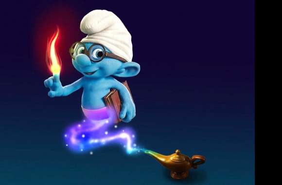 Weird alladin smurf wallpapers hd quality