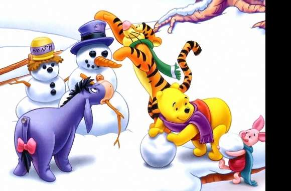 Winnie the pooh and friends wallpapers hd quality