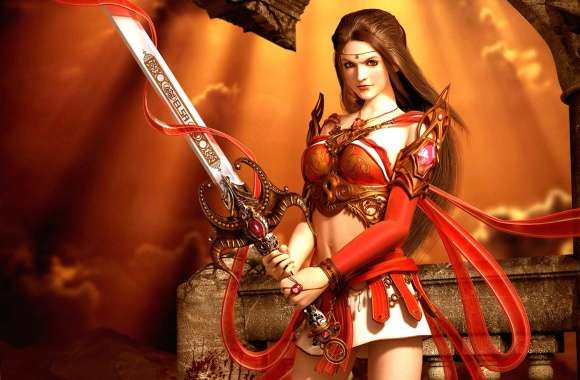 Woman with sword wallpapers hd quality