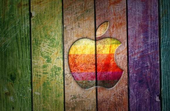Wood color apple wallpapers hd quality