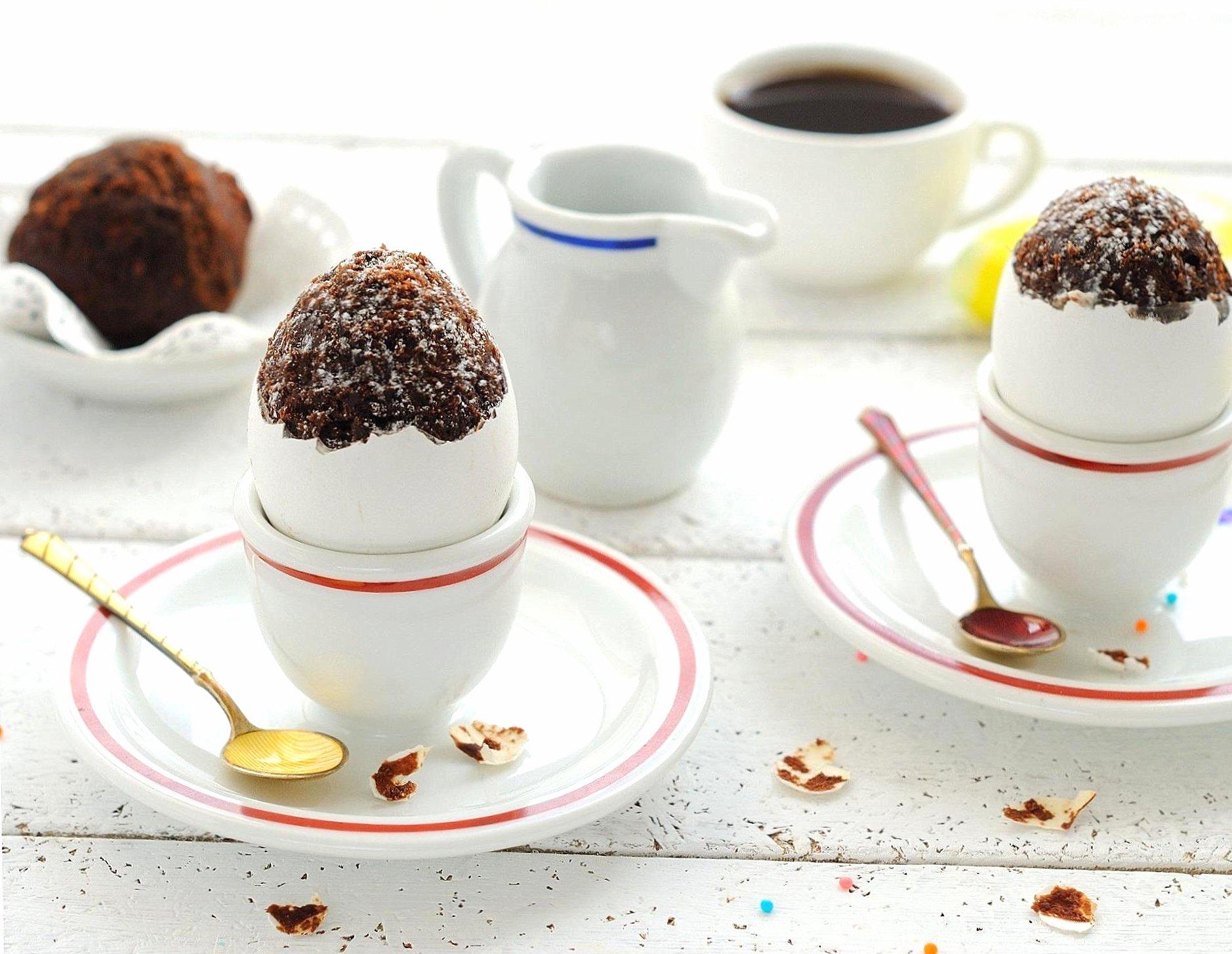 A dessert egg shape wallpapers HD quality