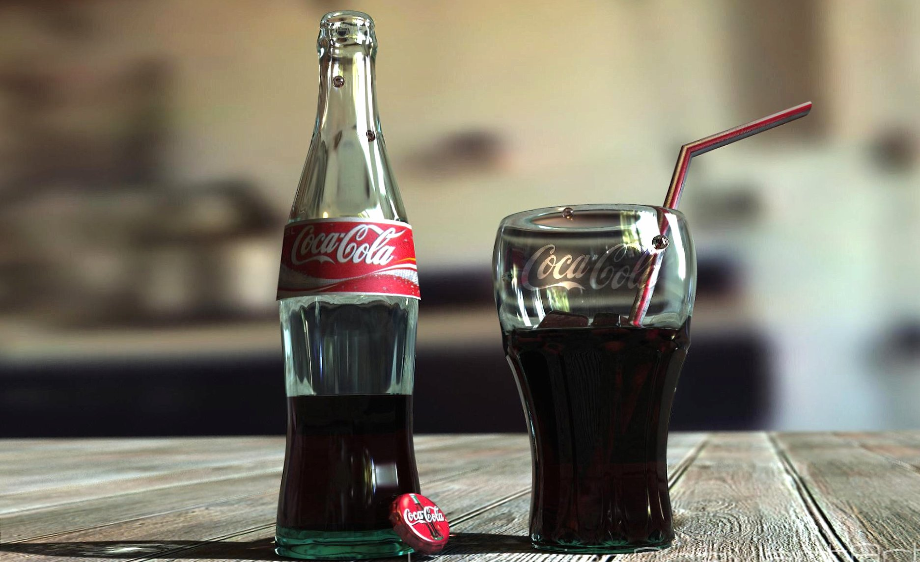A glass of coke wallpapers HD quality