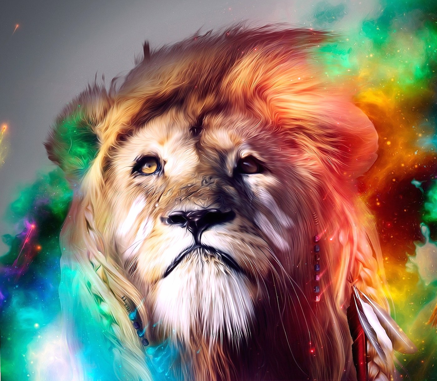 Abstract Lion wallpapers HD quality