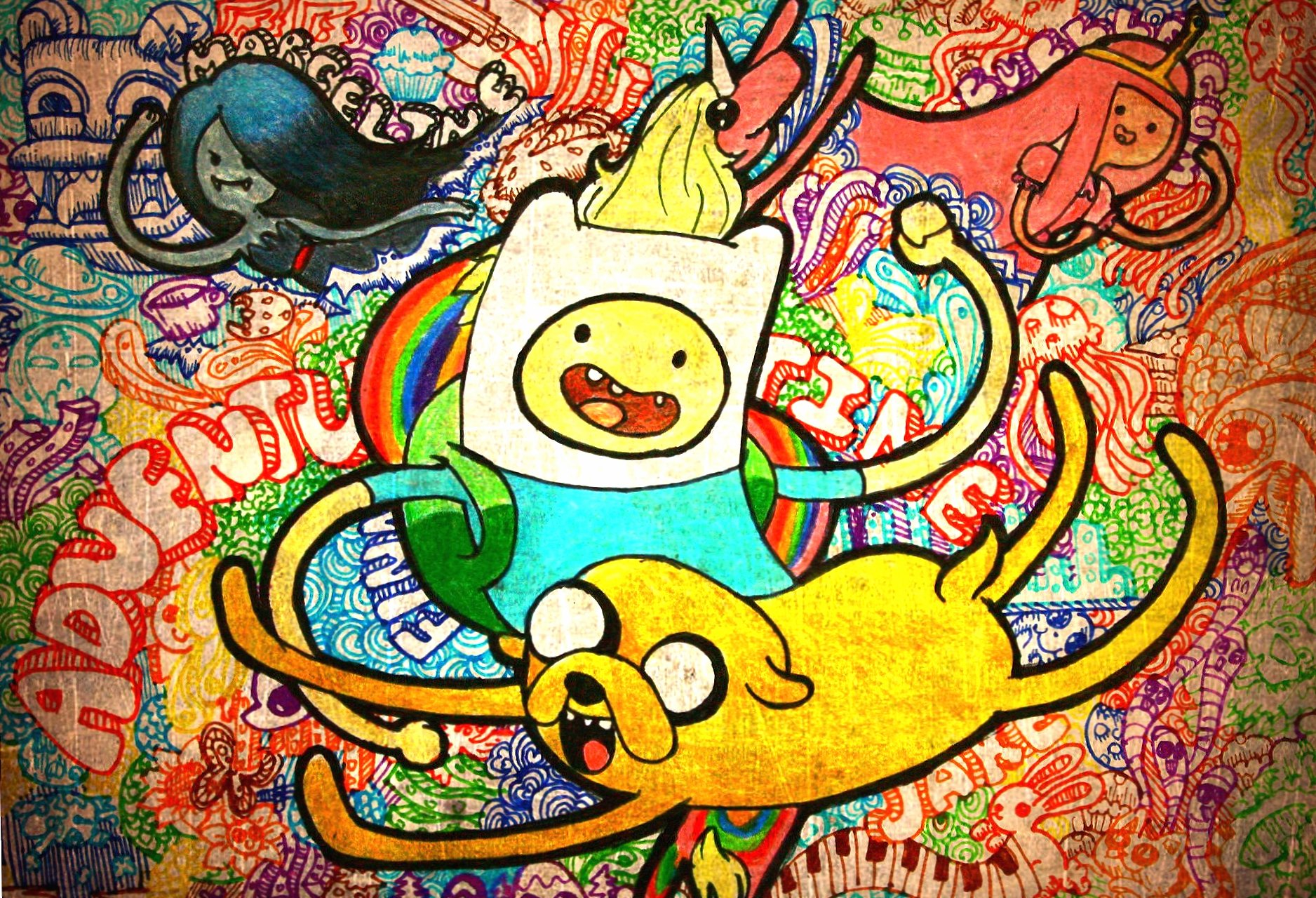 Adventure time finn and jake wallpapers HD quality