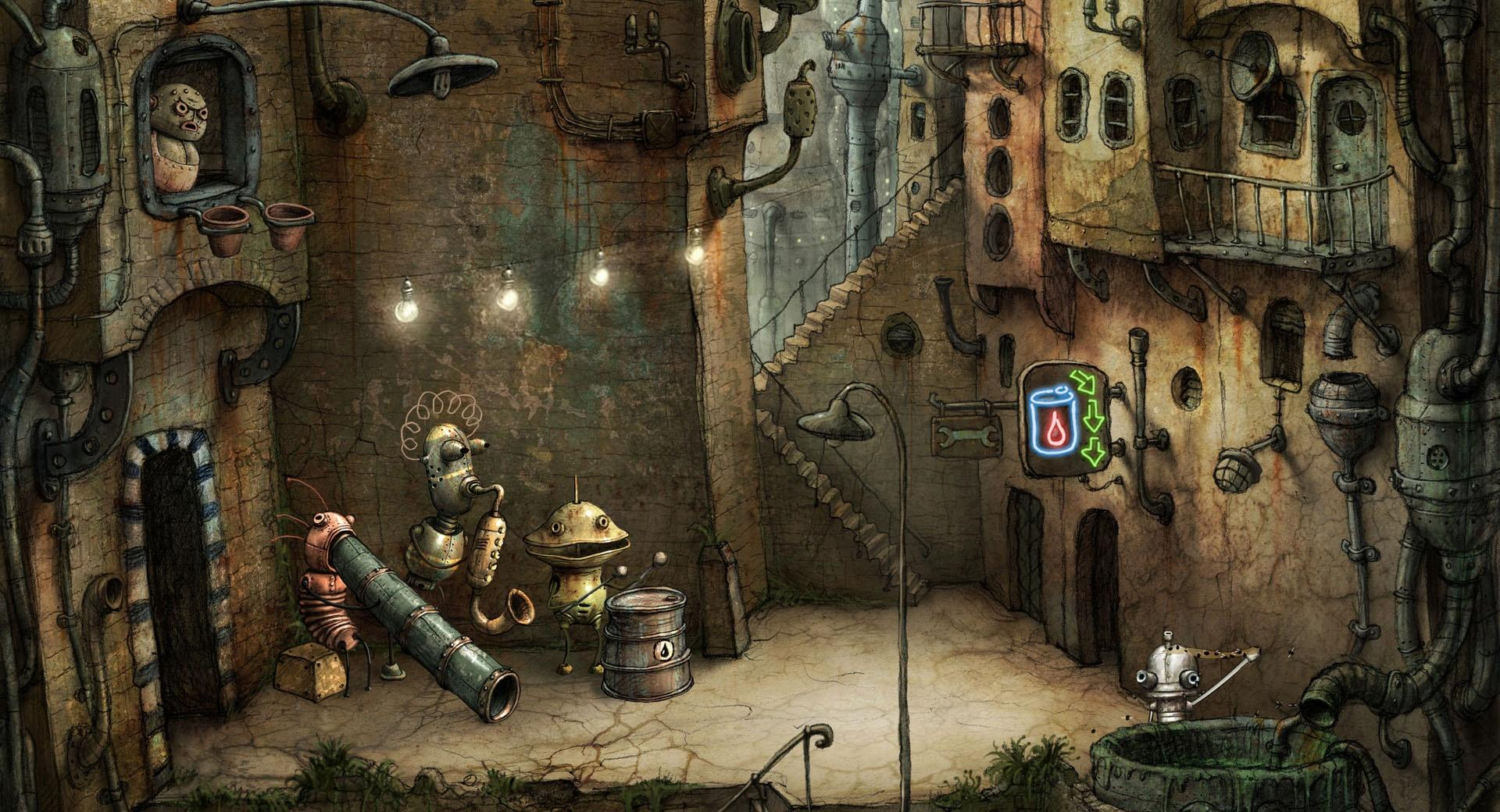 Alley, Machinarium Game wallpapers HD quality