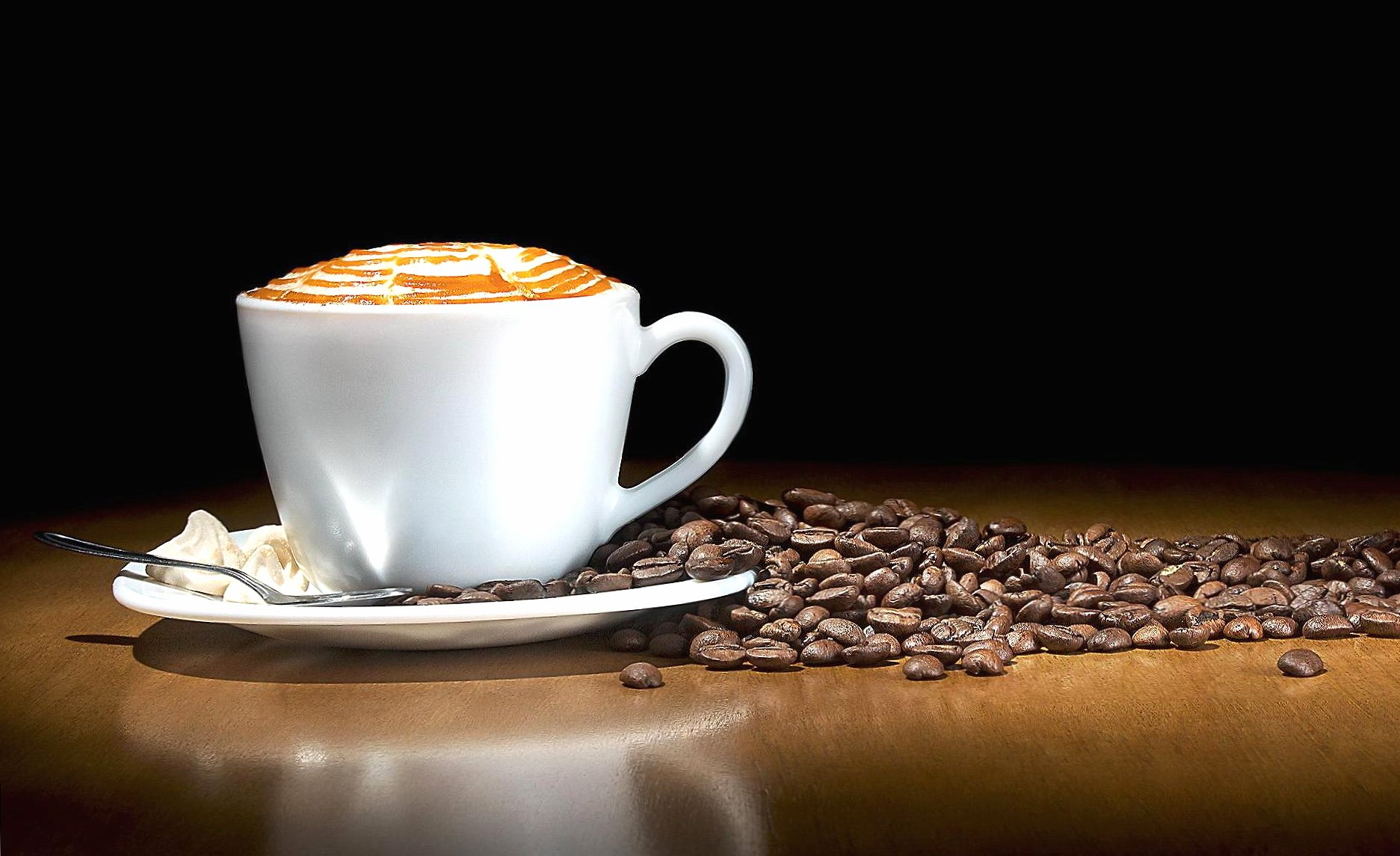 Amazing cup of coffee wallpapers HD quality