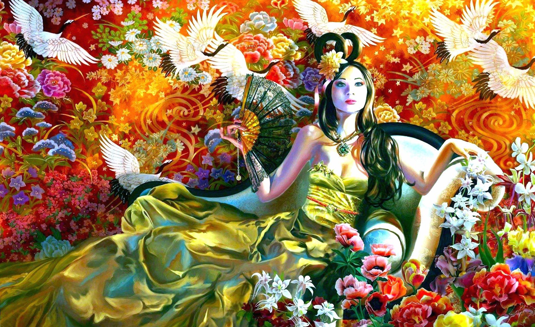 amazing oriental fantasy art wallpapers HD quality