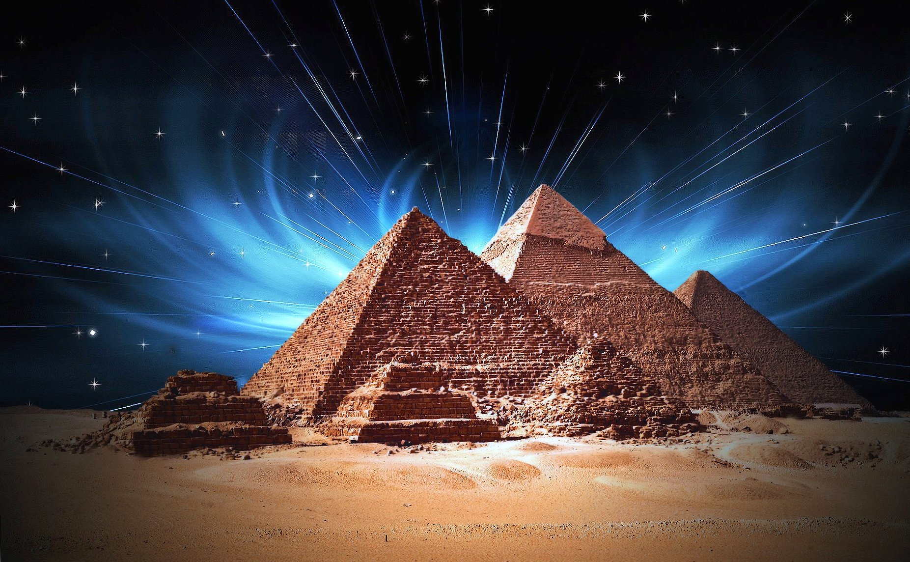 Amazing pyramids giza egypt cairo fantasy wallpapers HD quality
