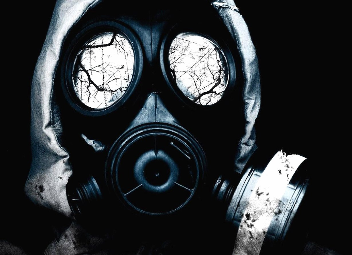 Black mask antigas digital wallpapers HD quality