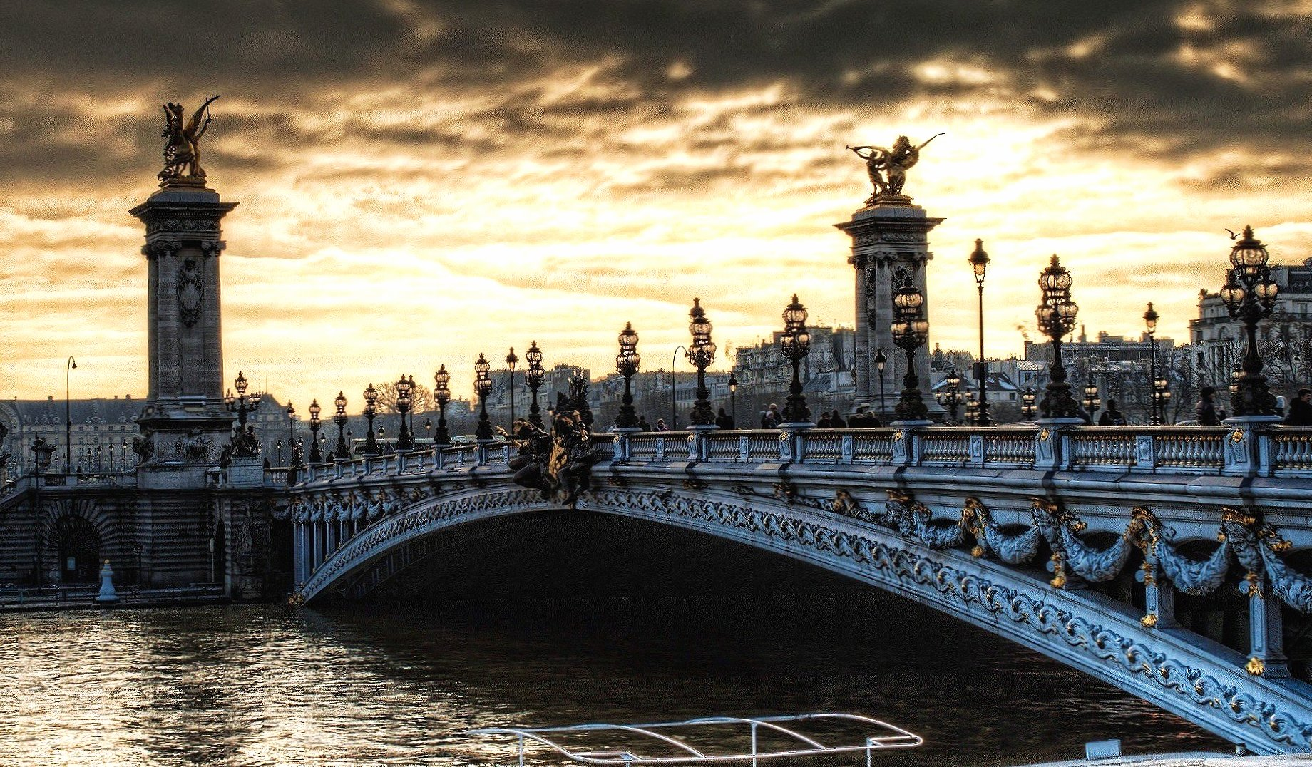 Bridge in paris wallpapers HD quality