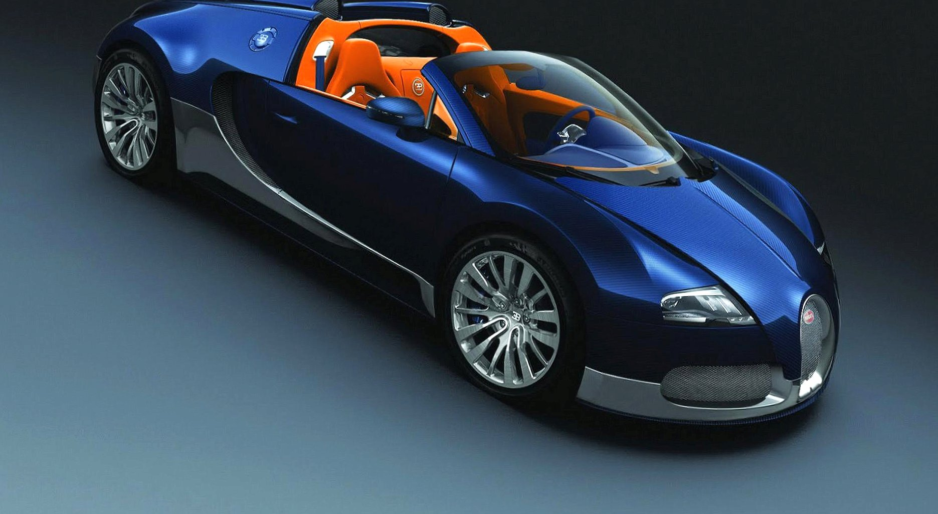 Bugatti veyron 16 4 blue wallpapers HD quality