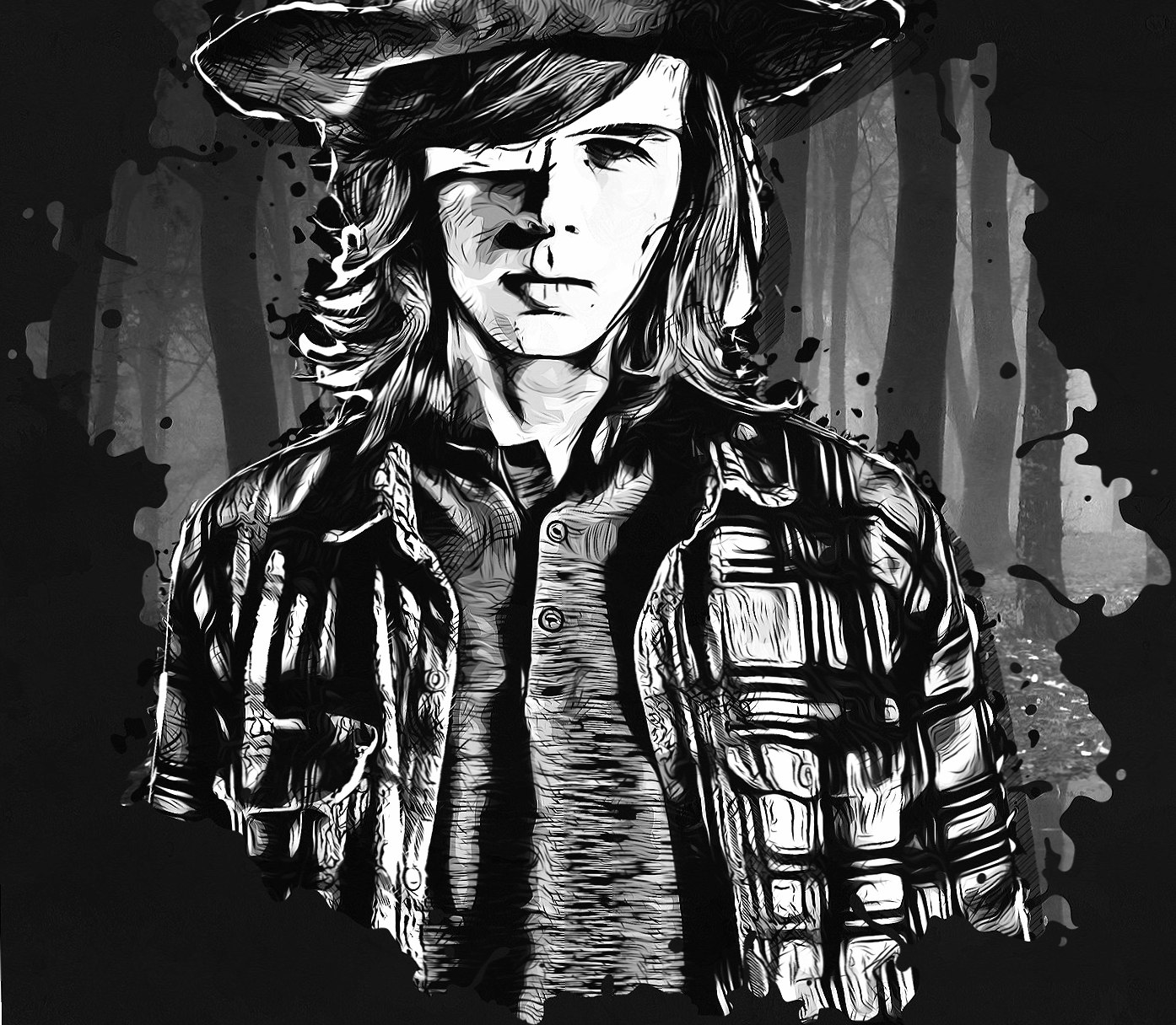 Carl Grimes wallpapers HD quality