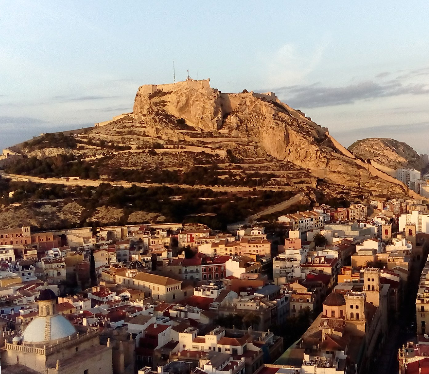 Castillo Alicante wallpapers HD quality