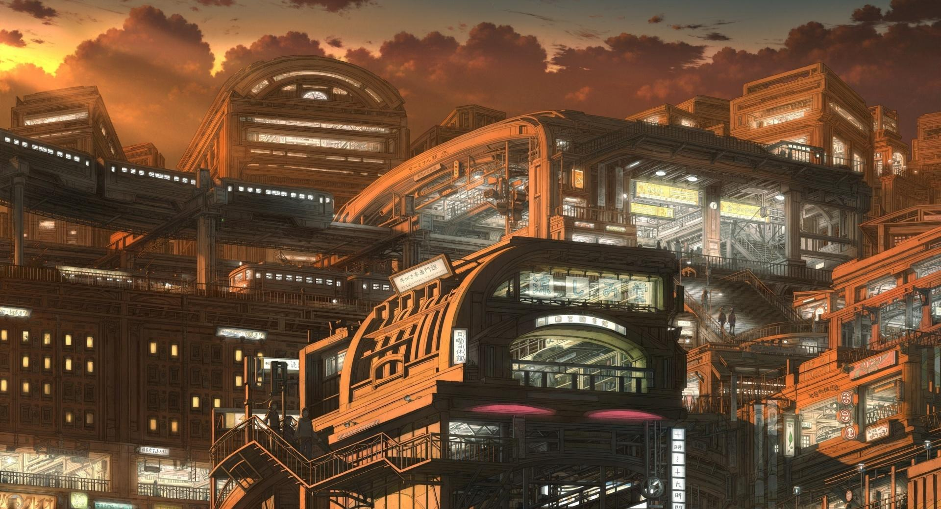 City Of The Future wallpapers HD quality