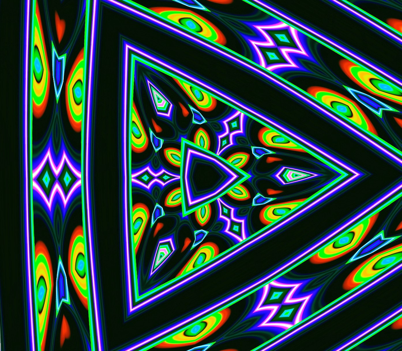 Colorfull Triangle wallpapers HD quality