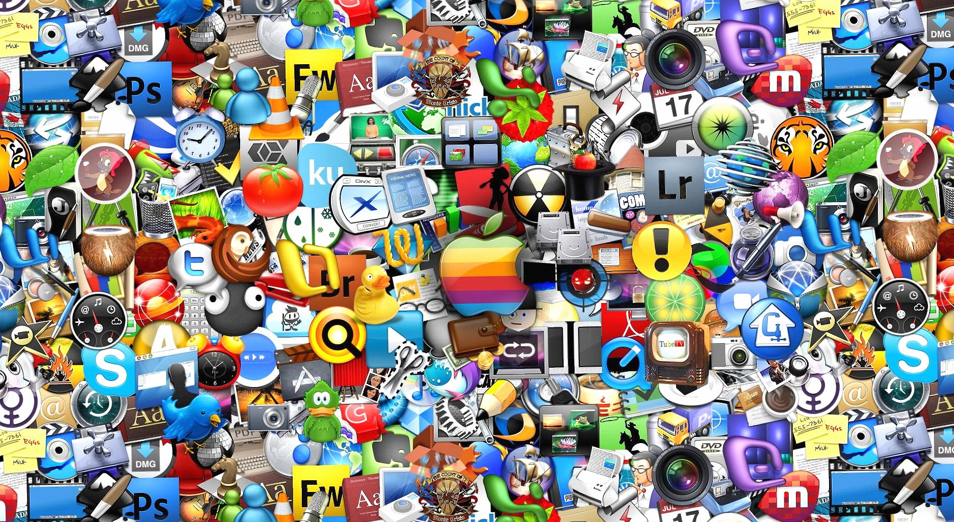 Computer logo collection digital wallpapers HD quality