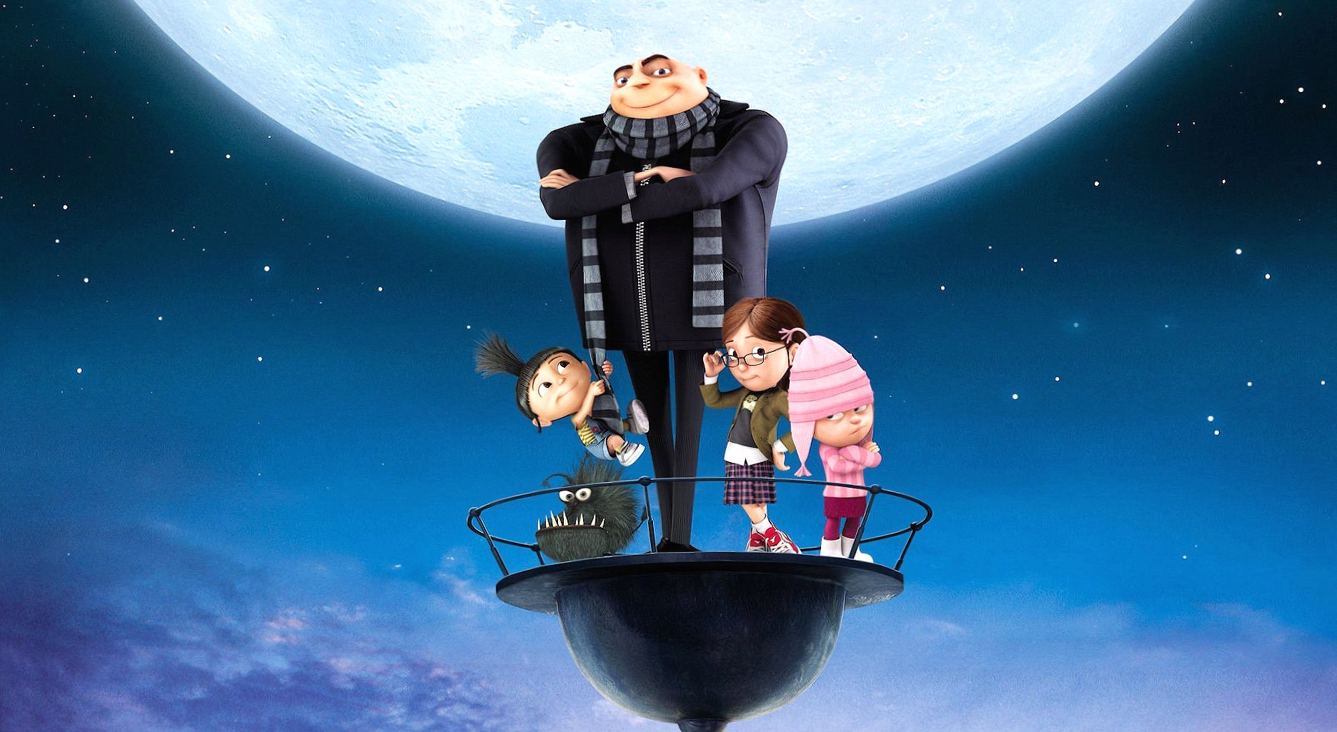 Despicable me gru and babies wallpapers HD quality