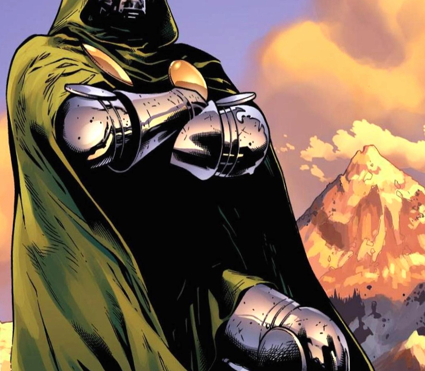 Dr Doom at 320 x 480 iPhone size wallpapers HD quality