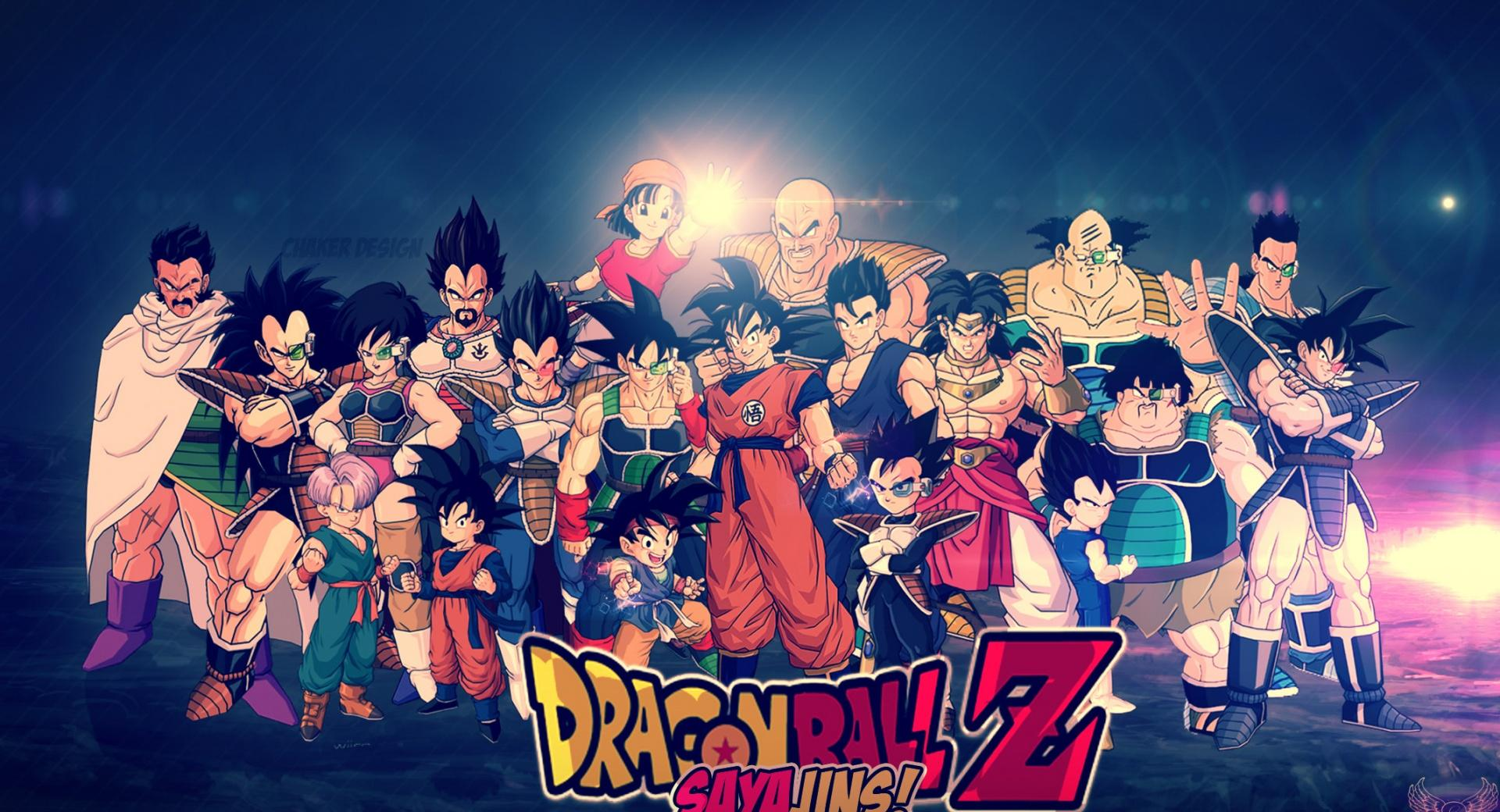Dragon Ball Z - HD Wallpaper by Chaker Design wallpapers HD quality