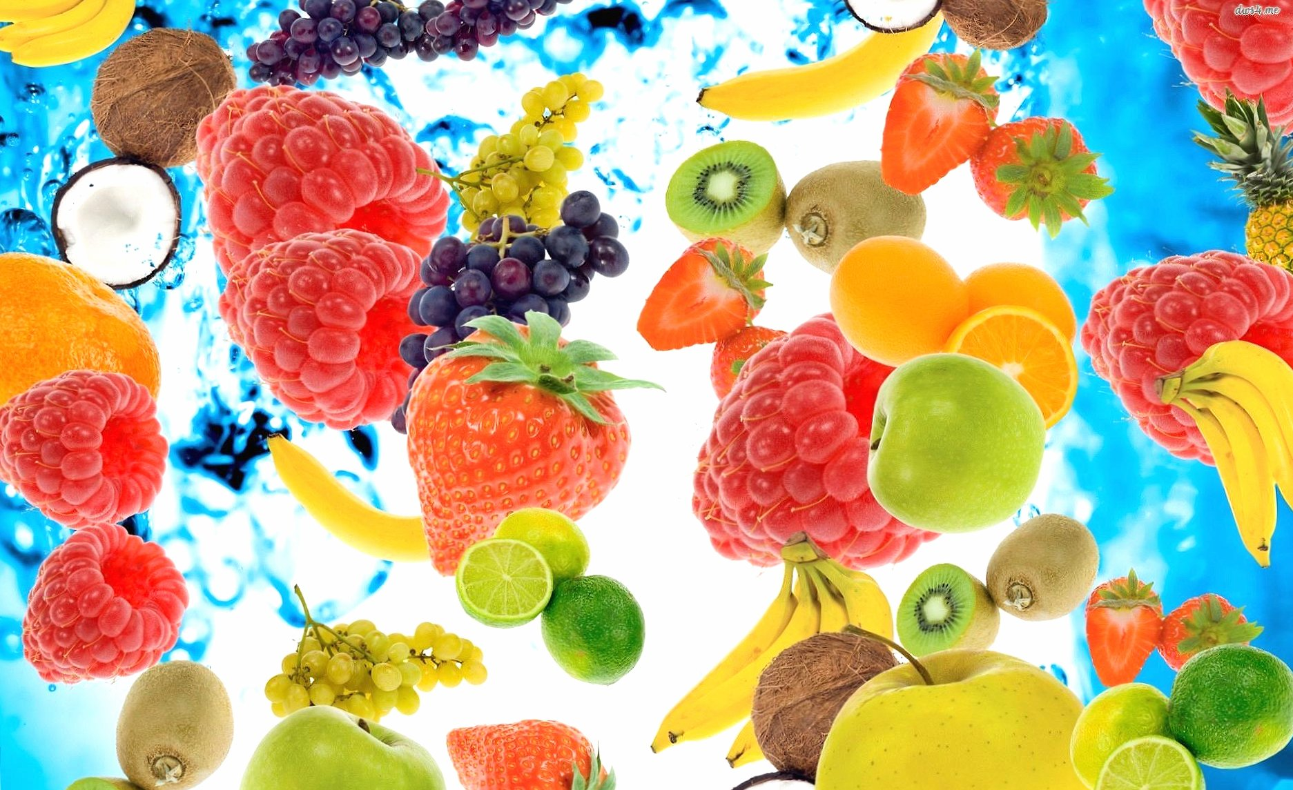 Fantasy fruits composition wallpapers HD quality