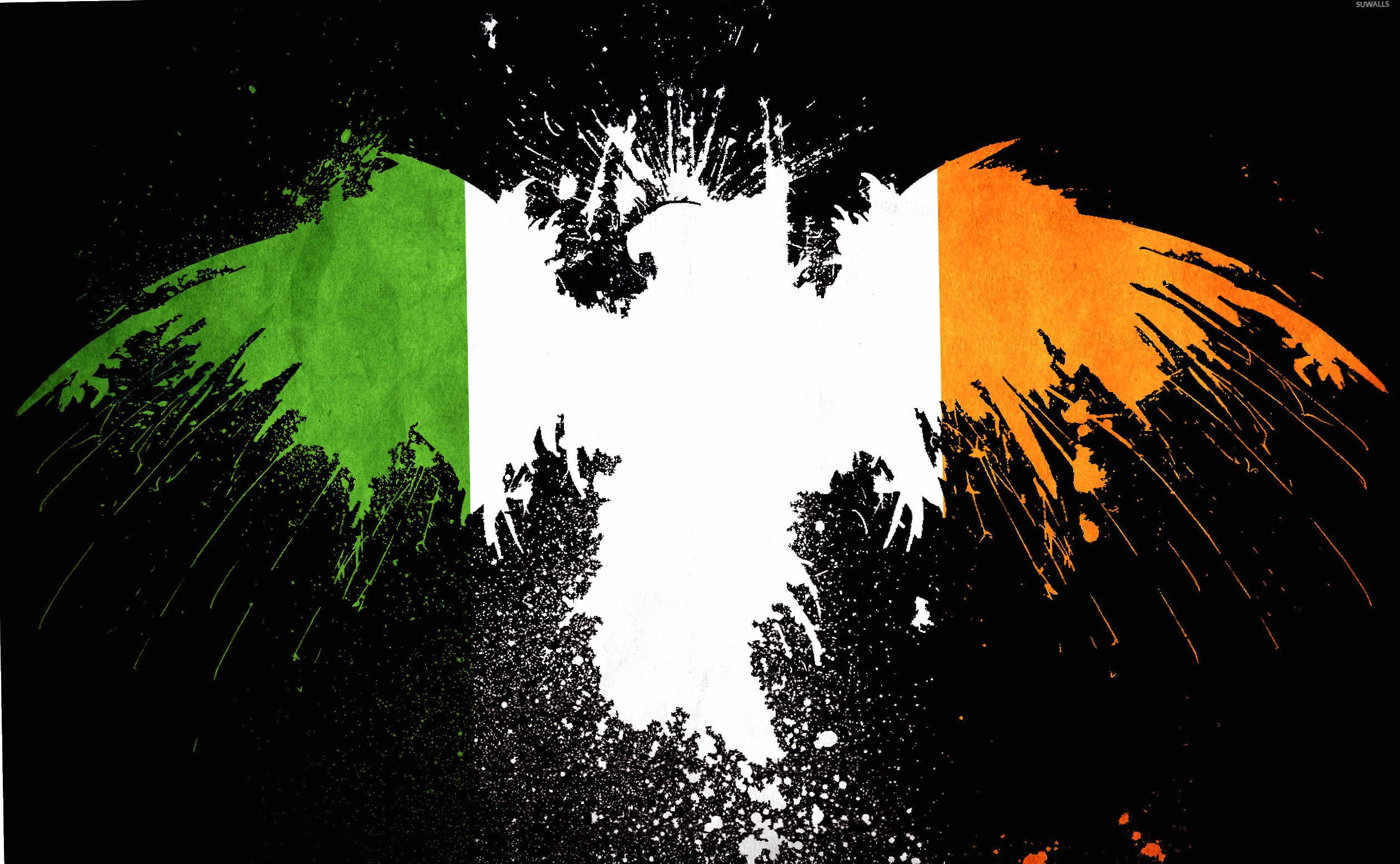 Flag of Ireland wallpapers HD quality