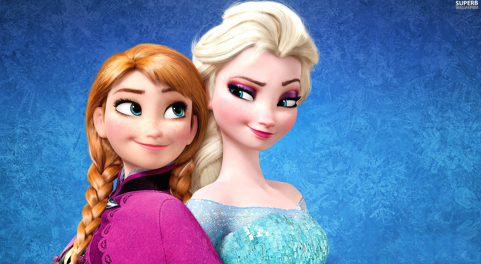 Frozen elsa and anna wallpapers HD quality