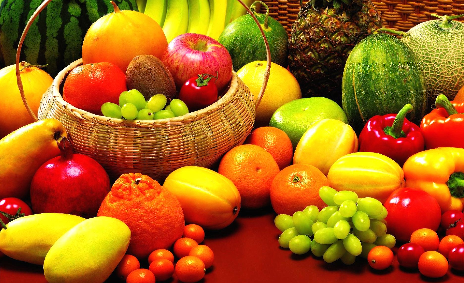 Fruit and vegetables wallpapers HD quality