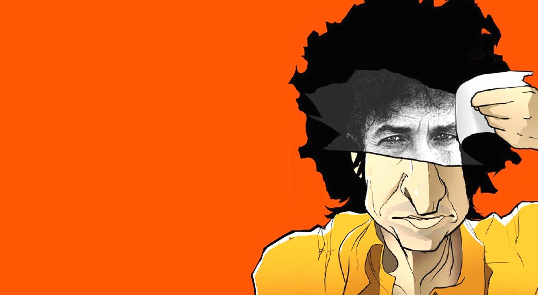 Funny bob dylan caricature wallpapers HD quality